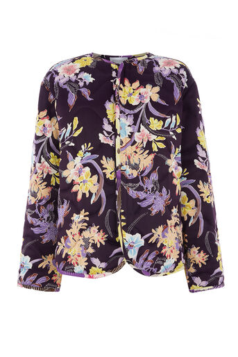 Warehouse, ORCHID  PRINT REVERSIBLE JACKE Multi 0