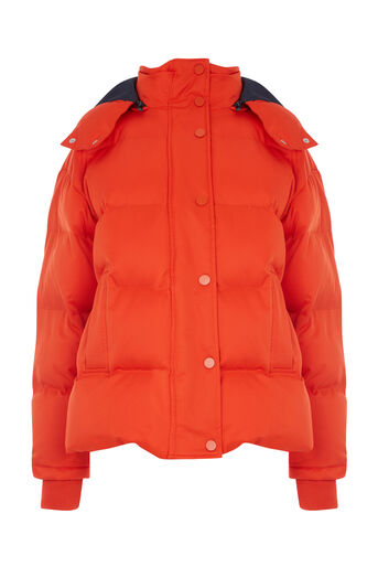 Warehouse, Fashion Padded Coat Bright Red 0
