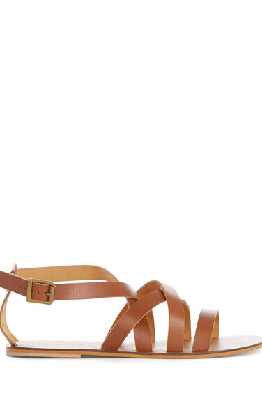 Warehouse, GLADIATOR SANDAL Tan 0