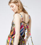 Warehouse, RAINBOW IKAT CAMI DRESS Multi 4