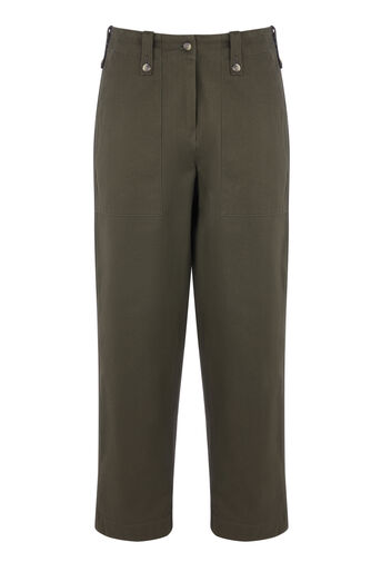 Warehouse, CARGO TROUSERS Khaki 0