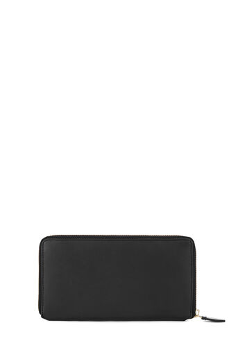 Warehouse, CLEAN LEATHER WALLET Black 0