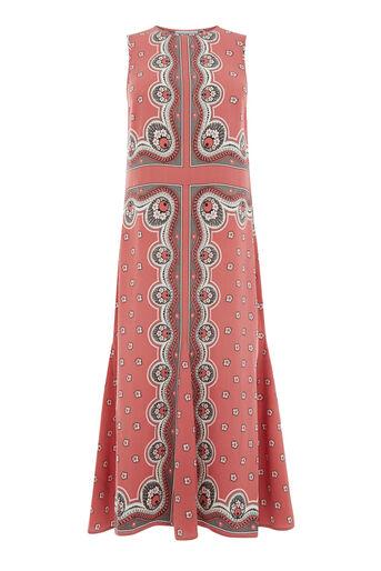 Warehouse, BANDANA PRINT VEST DRESS Pink Pattern 0