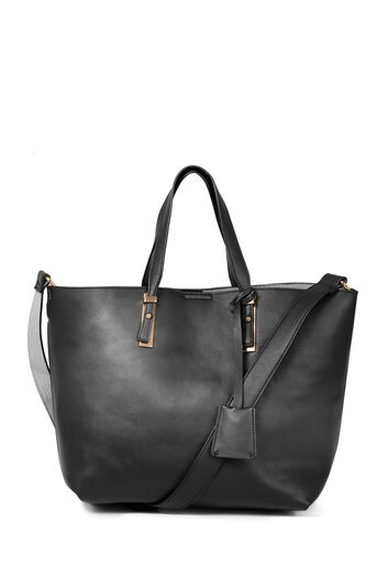 Warehouse, MINI SHOPPER BAG Black 0