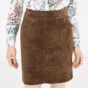 Warehouse, Suede Skirt Brown 4
