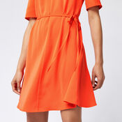Warehouse, FLIPPY DRESS Orange 4