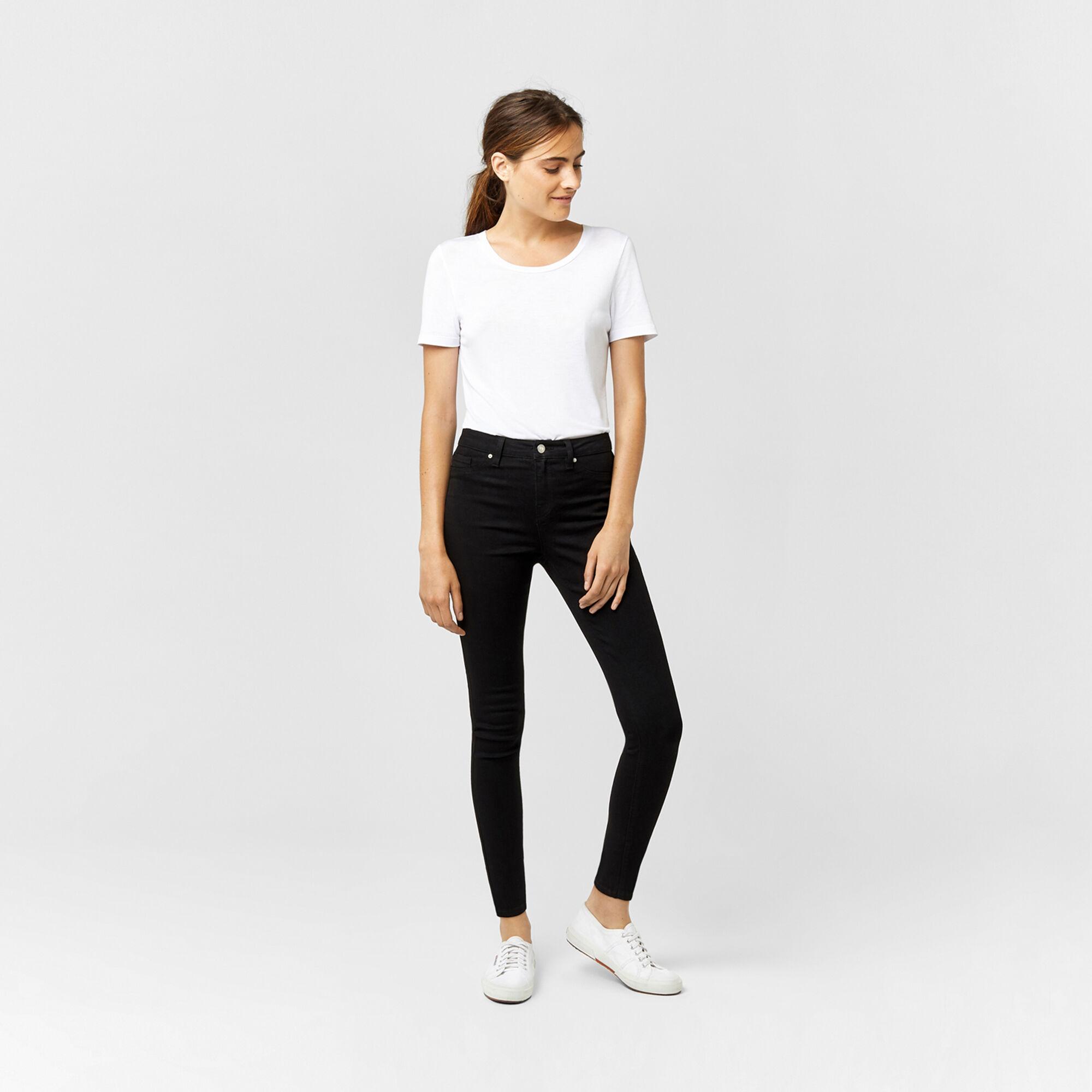 Warehouse, Ultra Skinny Cut Jeans Black 1