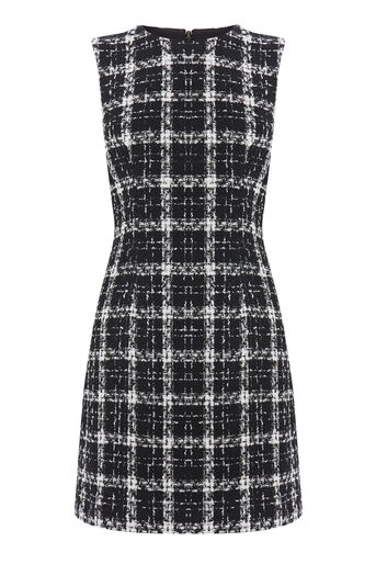 Warehouse, TWEED CHECK DRESS Multi 0