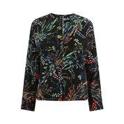 Warehouse, Meadow Floral Top Black Pattern 0