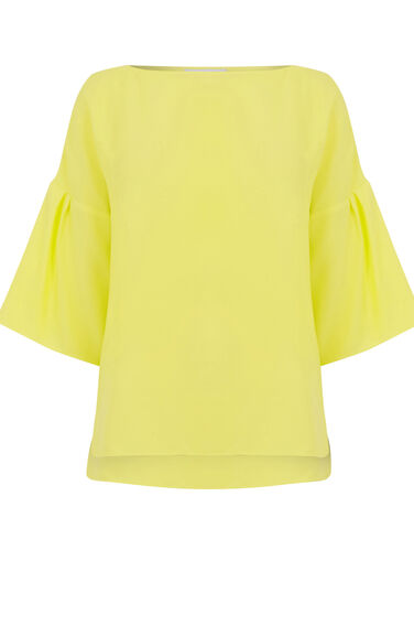 Warehouse, TIE BACK TOP Yellow 0