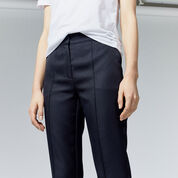 Warehouse, STITCH SEAM TROUSER Navy 4