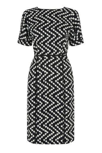 Warehouse, Zig Zag Dress Multi 0