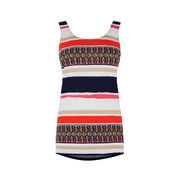 Warehouse, AZTEC STRIPE PRINTED VEST Multi 0