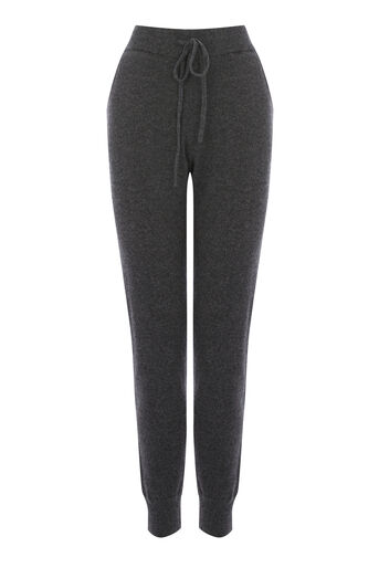Warehouse, CASHMERE JOGGER Dark Grey 0