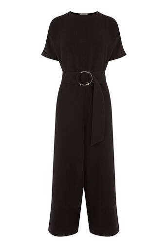 Warehouse, O RING JUMPSUIT Black 0