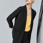 Warehouse, RELAXED FIT JACKET Black 4
