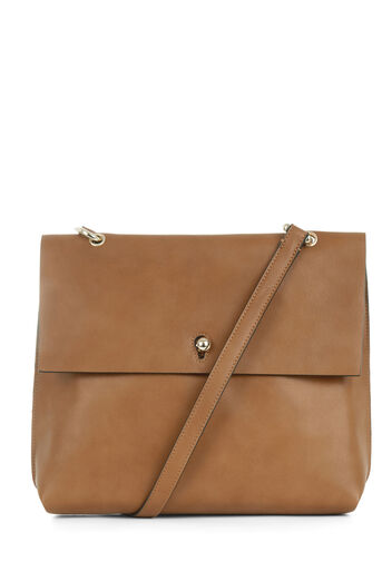 Warehouse, KEYHOLE SATCHEL Tan 0