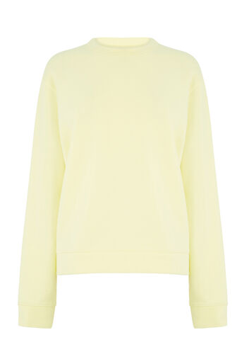 Warehouse, CLASSIC SWEAT Lemon 0