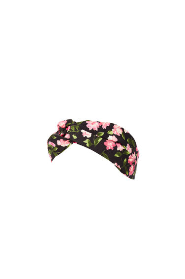 Warehouse, Cherry Blossom Headband Pink Pattern 0