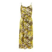 Warehouse, AMAZON PRINT DRESS Yellow 0