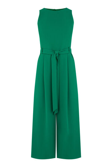 Warehouse, CULOTTE JUMPSUIT Bright Green 0