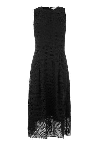 Warehouse, LINEAR DRESS Black 0