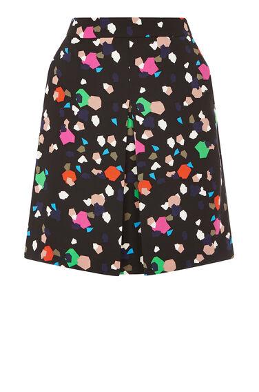 Warehouse, Geo Party Print Skirt Multi 0