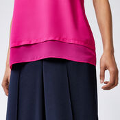 Warehouse, DOUBLE LAYER CAMI Bright Pink 4