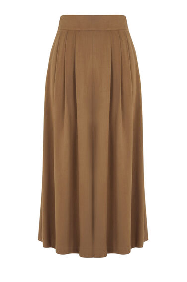 Warehouse, WIDE LEG CULOTTES Tan 0