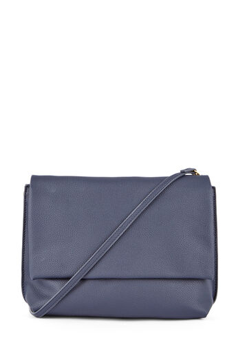 Warehouse, BUFF GRAINY CROSSBODY Navy 0
