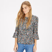 Warehouse, DITSY FLORAL TOP Multi 1