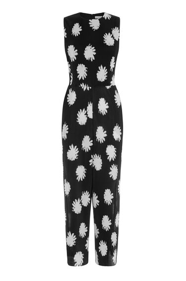 Warehouse, FLOWER STAMP PLISSE JUMPSUIT Multi 0