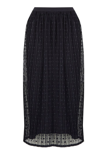 Warehouse, SPOT MESH SKIRT Navy 0