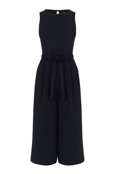 Warehouse, CULOTTE JUMPSUIT Navy 0