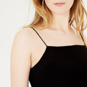 Warehouse, PLAIN CAMI Black 4