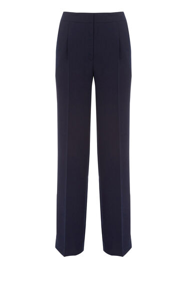 Warehouse, STRAIGHT LEG TROUSERS Midnight 0