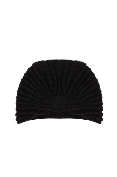 Warehouse, TURBAN HAT Black 0