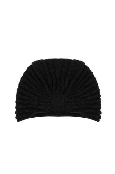 Warehouse, TURBAN HAT Black 0