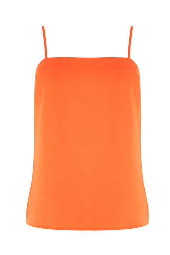 Warehouse, SQUARE NECK CAMI Orange 0