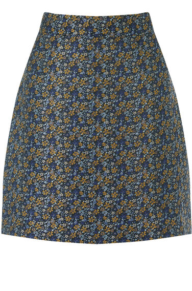 Warehouse, DAISY FLORAL PELMET SKIRT Multi 0
