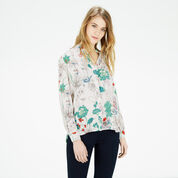 Warehouse, ORIENTAL FLORAL SHIRT Multi 1
