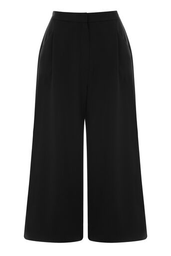Warehouse, CREPE CULOTTES Black 0