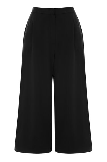 Warehouse, CREPE CULOTTE Black 0