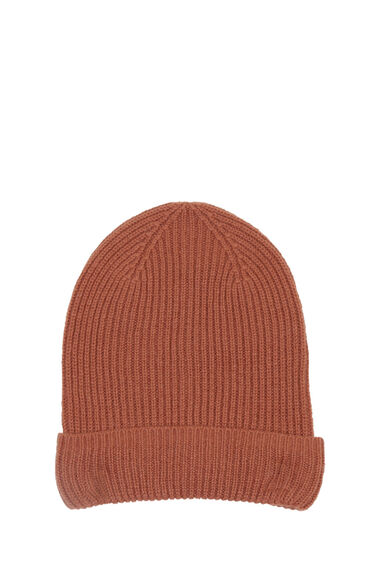Warehouse, CASHMERE HAT Brown 0