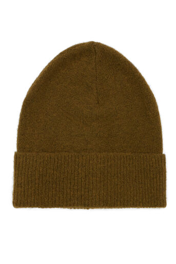 Warehouse, MOHAIR KNIT HAT Khaki 0