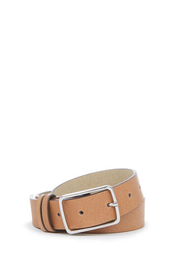 Warehouse, LEATHER JEANS BELT Tan 0