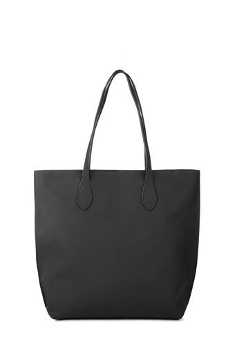 Warehouse, Grainy Shopper Bag Black 0