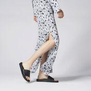 Warehouse, DAISY SILK COLUMN MAXI DRESS Neutral  Print 4