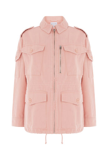Warehouse, Military Jacket Light Pink 0
