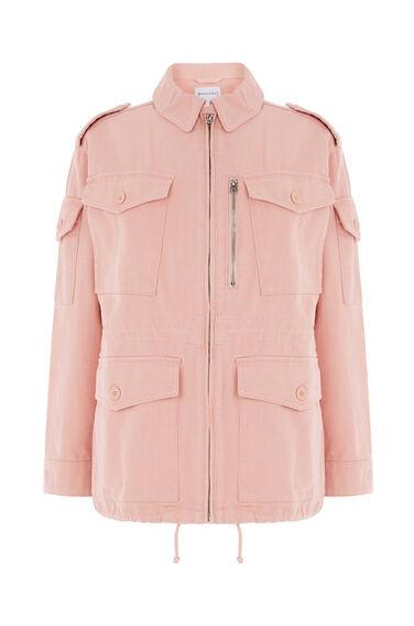 Warehouse, Military Jacket Light Pink 0